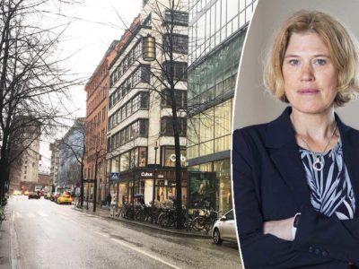 Stina Josefson, chef på avtal och förhandling på Handels.