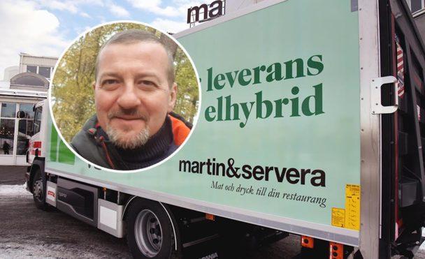 Danial, Jahic, Handels klubbordförande på Martin & Servera i Halmstad.